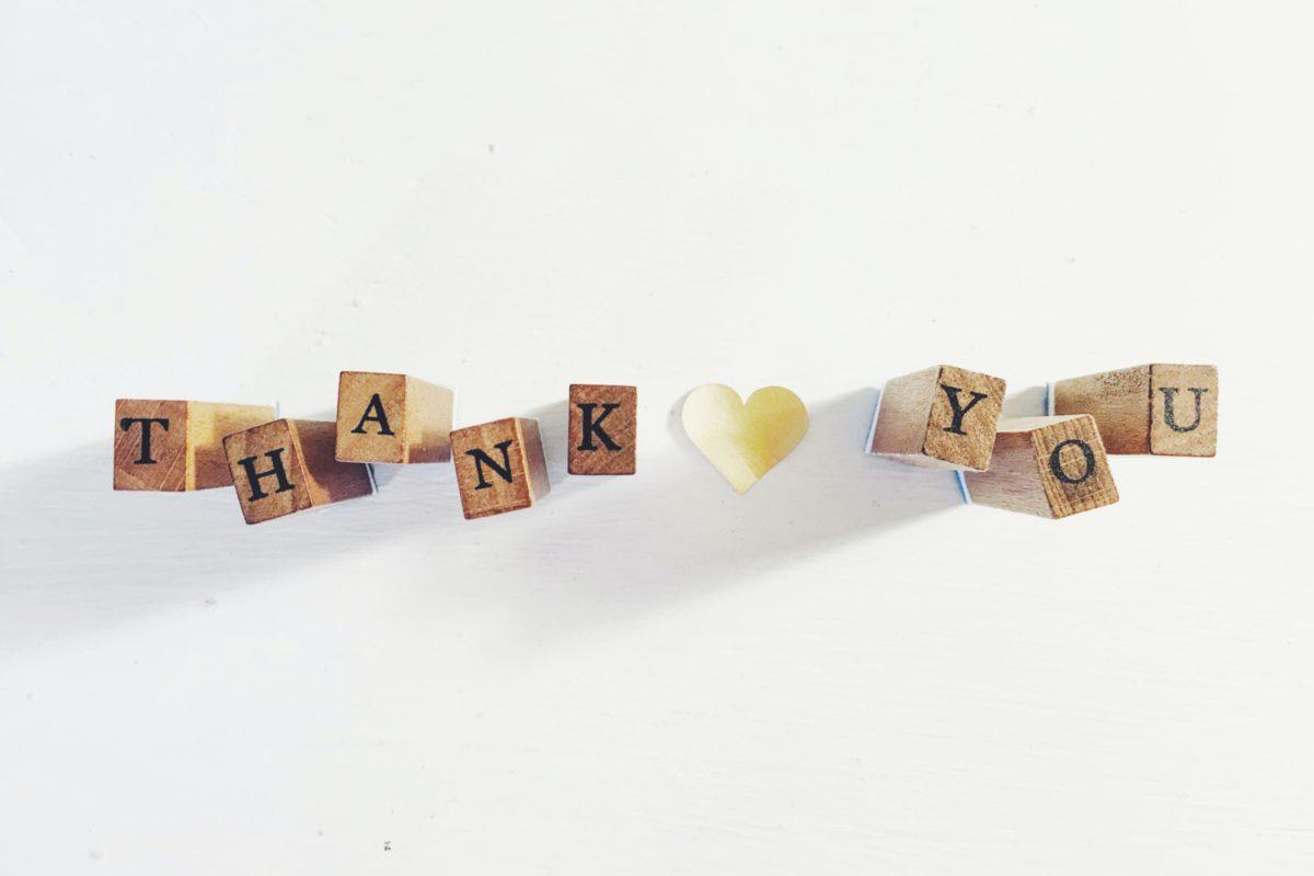 「ありがとう」を伝える様々なフレーズ