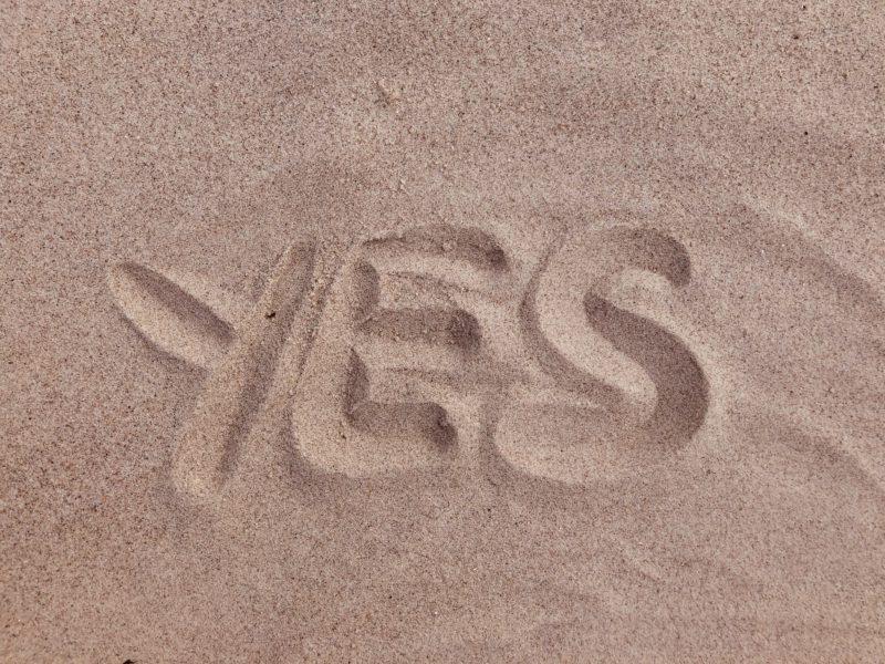 「Yes」と「no」以外に使えるあいづち